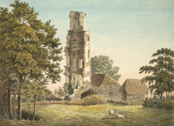 Ruins of Warblington near [Havant] Hampshire